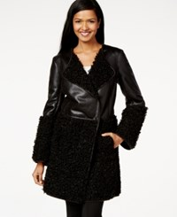 Studio M Faux Shearling Coat