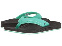 New Balance Renew Thong Black Green Women's Sandals