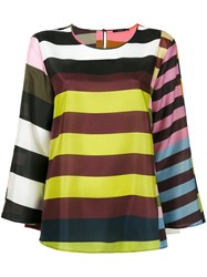 Odeeh Multiple Stripes Blouse