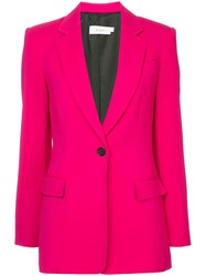 A.L.C. Single Breasted Blazer Pink And Purple