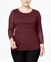 Alfani Plus Size Tiered Top Only At Macy's Marooned