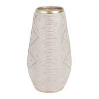 Amara Snakeskin Vase Natural Neutral
