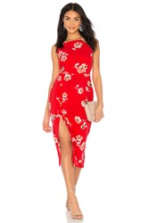 Clayton Jordy Dress Red