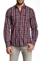 Gilded Age Fletcher Chest Pocket Shirt Red