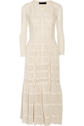 Burberry Open Knit Cotton Dress
