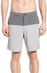 Tommy Bahama Men's Cayman Block And Roll Hybrid Swim Shorts