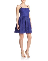Hailey Logan Strappy Fit And Flare Dress Concord