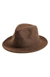 Michael Stars 'No Strings' Wool Fedora Java