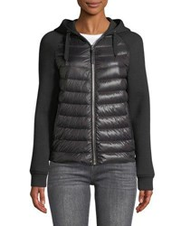 Mackage Yori Combo Jacket W Hood Black