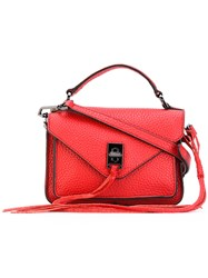 Rebecca Minkoff Mini Darren Messenger Bag Women Leather One Size Red
