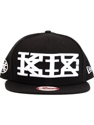 Ktz Embroidered Logo Cap Black