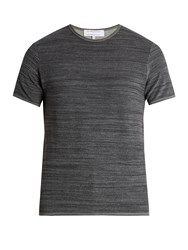 Orlebar Brown Terry Towelling Cotton T Shirt Grey
