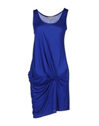 Anne Valerie Hash Short Dresses Blue