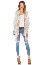 Michael Stars Faded In Paisley Cape Taupe