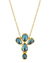 Gurhan Topaz And 24K Gold Pendant Necklace