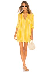 Indah Current Long Sleeve Tunic Yellow