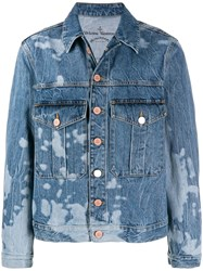 Vivienne Westwood Anglomania Type 3 Denim Jacket Blue
