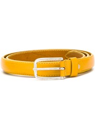 Al Duca Da Aosta 1902 Buckle Belt Yellow And Orange
