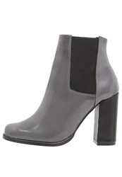 Wallis Lismen High Heeled Ankle Boots Grey
