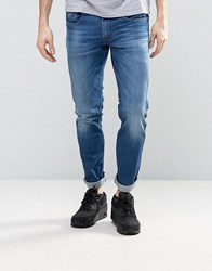Replay Anbass Slim Fit Jean Dark Laser Wash 95941 Blue