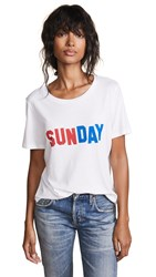 South Parade Lola Sunday Tee White