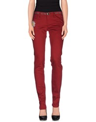 Desigual Trousers Casual Trousers Women Maroon