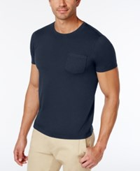 Brooks Brothers Red Fleece Men's Slim Fit T Shirt Navy