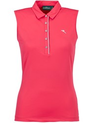 Chervo Africa Sleeveless Polo Pink