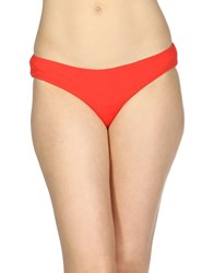 Laura Urbinati Swim Briefs Red
