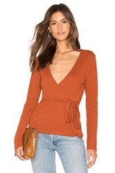 Minkpink All Wrapped Up Top Rust