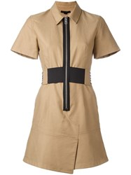 Alexander Wang Safari Dress Nude Neutrals