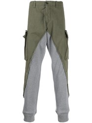 Paul And Shark Two Tone Cargo Trousers 60