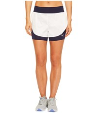 Puma Culture Surf 2 In 1 Shorts White White Swirl Print Women's Shorts