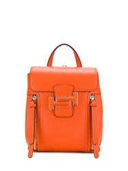 Tod's Classic Backpack Orange