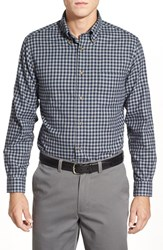 Men's Brooks Brothers Trim Fit Long Sleeve Flannel Gingham Sport Shirt