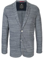 Loveless Single Breasted Blazer Blue