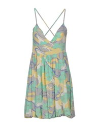 Entre Amis Dresses Short Dresses Women Light Green