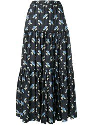 La Doublej Big Skirt Black