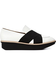 Derek Lam 10 Crosby 'Greer' Loafers White
