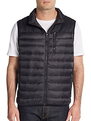 Hawke And Co Packable Quilted Down Vest Black