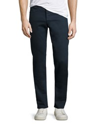 Rag And Bone Standard Issue Fit 2 Mid Rise Relaxed Slim Fit Jeans Coated Navy