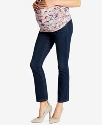 Jessica Simpson Maternity Dark Wash Ankle Jeans