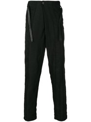 Transit Straight Fit Tailored Trousers Black