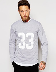 Wood Wood Gerrit Long Sleeve Grey