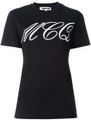Mcq By Alexander Mcqueen Tattoo Print T Shirt Black