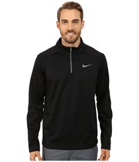 Nike Ko 1 4 Zip Top Black Black Cool Grey Men's Workout