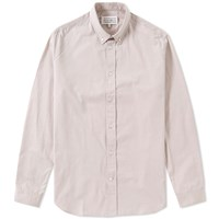 Maison Martin Margiela 14 Button Down Poplin Shirt Grey