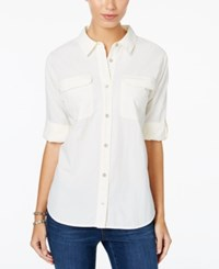 G.H. Bass And Co. Utility Shirt French Vanilla