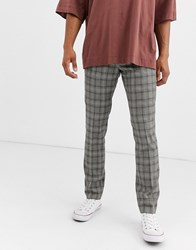 Heart And Dagger Skinny Trousers Grey