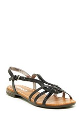 Report Garam Braided Sandal Black